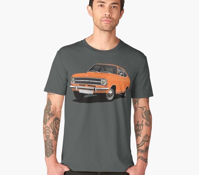 Opel Kadett B Coupé t-shirts