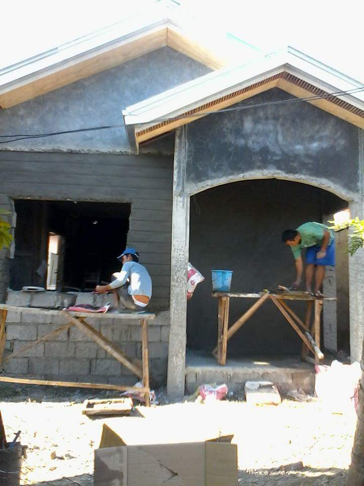 In Photos Ofw Built His P500k Dream House A Small And