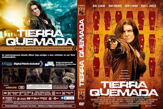 CARATULAScorched Earth - TIERRA QUEMADA 2018 [ COVER - DVD]