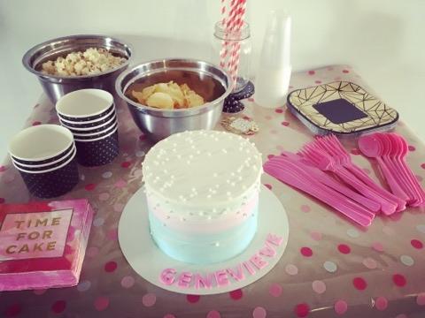 organisation anniversaire fête gâteau