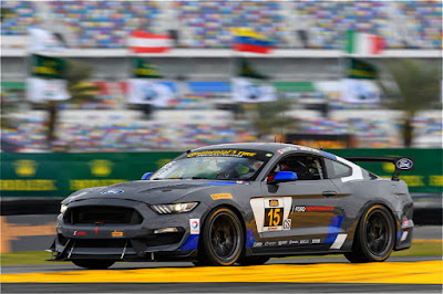 Ford Performance Teaming Up Young #NASCAR Stars, Veteran Racer For IMSA Continental Tire Opener At Daytona