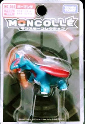 Salamence figure Takara Tomy Monster Collection MONCOLLE MC series
