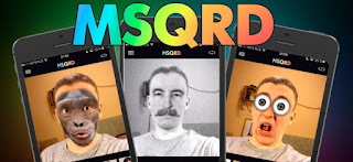 MSQRD افضل تطبيق لاضافة اشكال رائعة الى صور وفيديوهات السيلفي