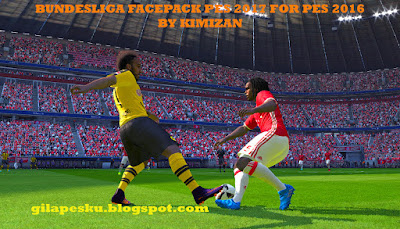 Bundesliga Facepack PES 2017 For PES 2016 by Kimizan