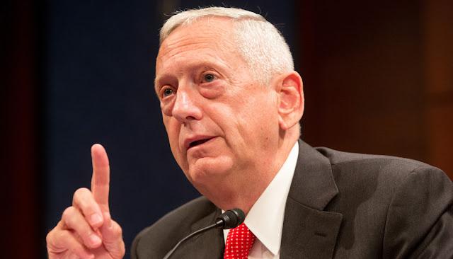 O secretário de Defesa dos Estados Unidos, Jim Mattis, disse nesta segunda-feira que, se a Coreia do Norte disparar um míssil contra os EUA, a situação poderia levar a uma guerra.