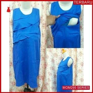 MOM295D16 Dress Hamil Menyusui Modis Lily Dresshamil Ibu Hamil
