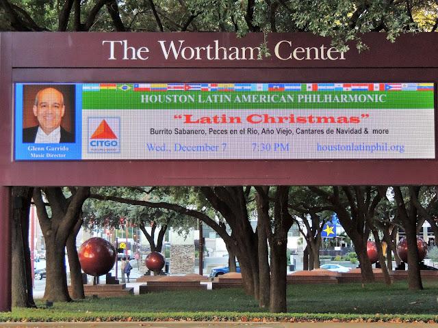 """Latin Christmas"" at The Wortham Center - Dec 7, 2016"
