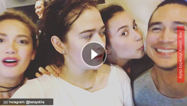 Yassi Pressman steals a kiss from Piolo Pascual