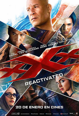 xXx: Reactivated [CINE] Tercer capitulo de la explosiva saga.
