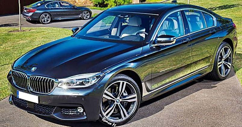 2017 bmw 5 series sedan and touring wagon rendered auto. Black Bedroom Furniture Sets. Home Design Ideas