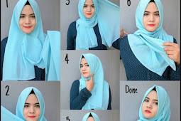 Tutorial Jilbab Pashmina Sabyan