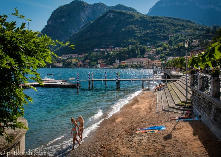 33 Amazing Beaches From Around The World - Lake Como, Lombardy, Italy