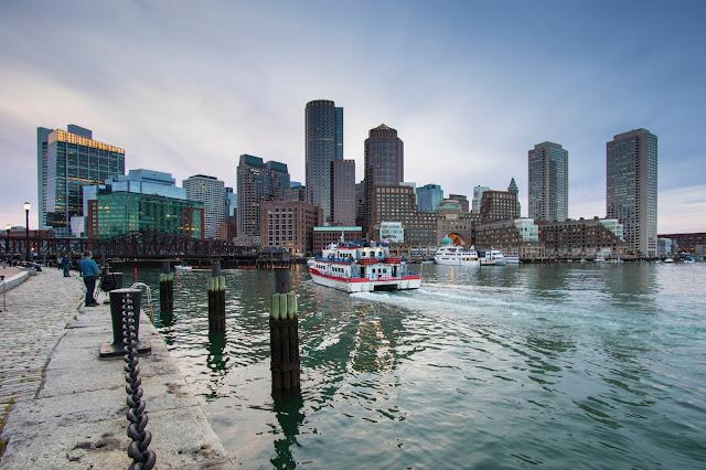 Seaport district-Fan pier park-Boston
