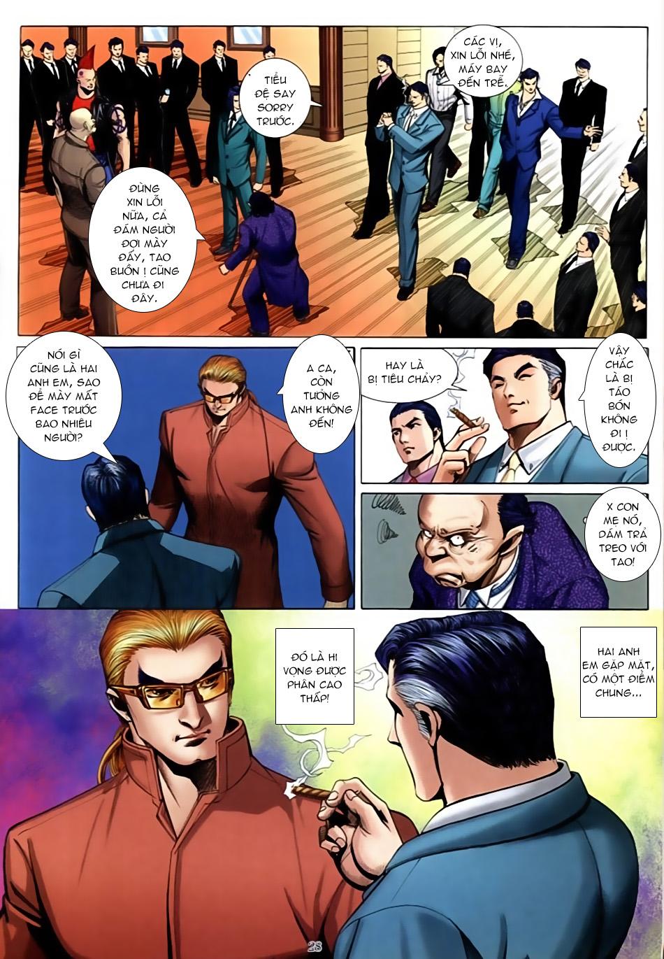 Người Trong Giang Hồ chapter 586: lưỡi chiến quần hùng trang 21