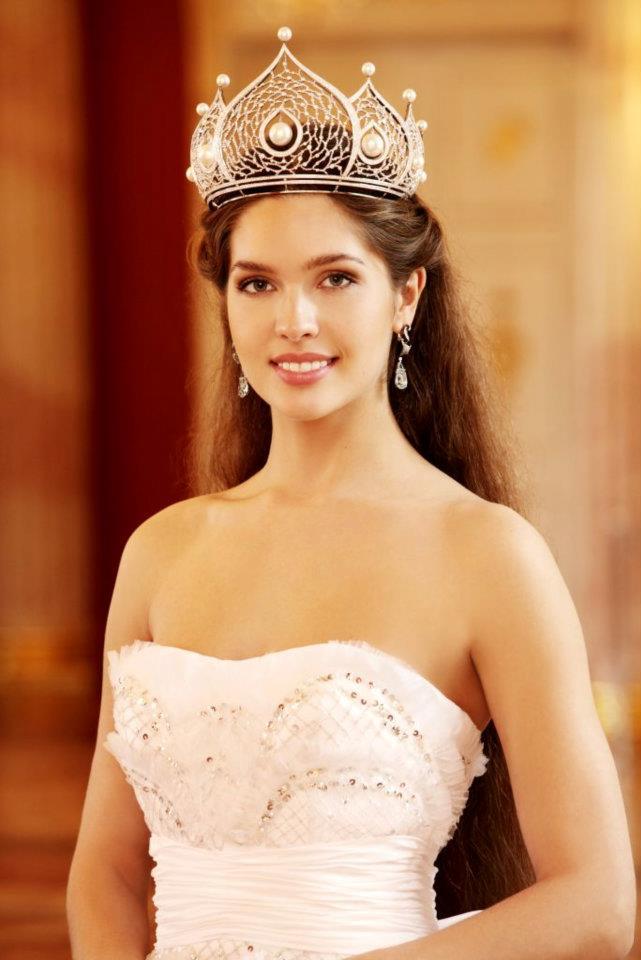 Elizaveta Golovanova Miss Russia Pageant in Moscow
