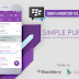 BBM Simple Purple V1.1.7 - BBM MOD Android V2.13.0.26