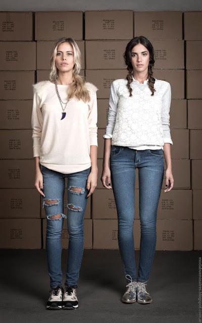 Ropa de mujer de moda invierno 2016 Wupper Jeans.