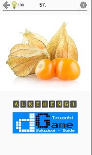 Soluzioni Frutti, verdure e noce livello 57