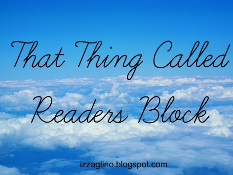 BOOKS | That Thing Called Reader's Block