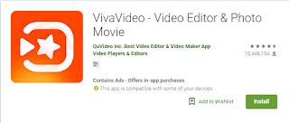 langkah mudah cara memakai aplikasi viva video android untuk pemula