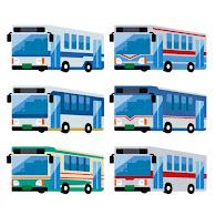 いろいろなバスのイラスト かわいいフリー素材集 いらすとや