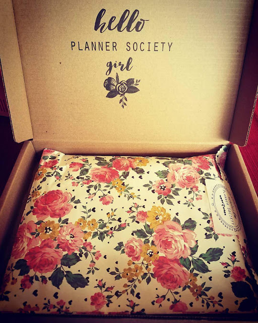 Review of The Planner Society January Kit