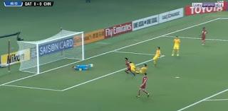 فيديو|| خسارة منتخب قطر على ارضه امام الصين فى اطار تصفيات كأس العالم - اسيا, qatar-vs-china