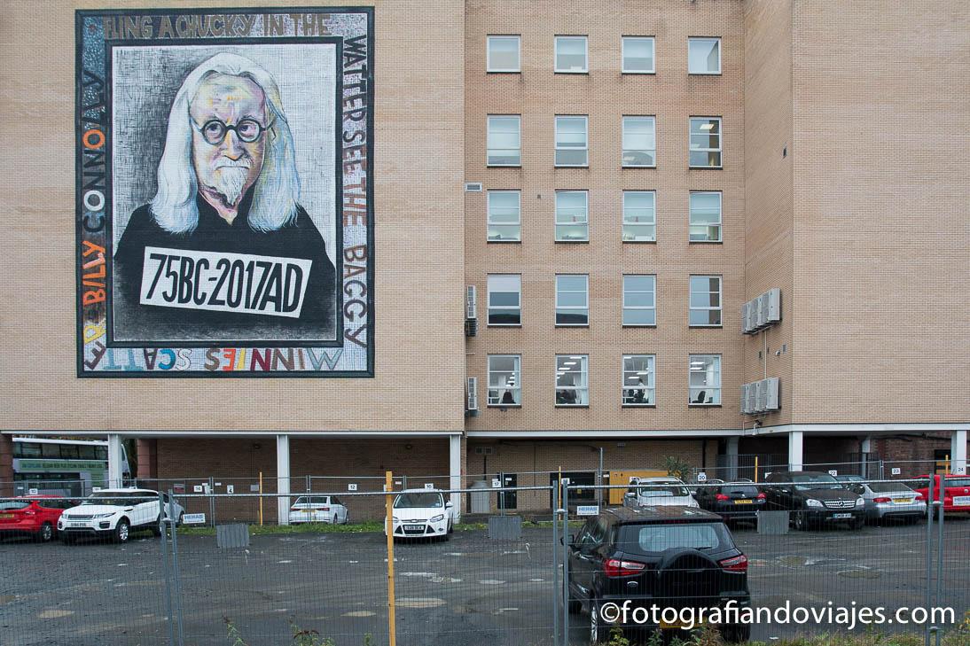 Grafitis en el centro de Glasgow