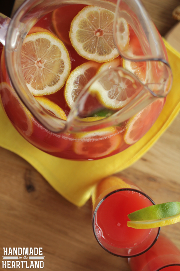 Watermelon Lemon-Limeade Recipe