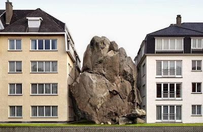 fotomontaje con edificio