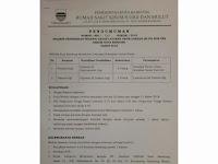 Seleksi Penerimaan Pegawai BLUD Non PNS RSKGM Kota Bandung Tahun 2018