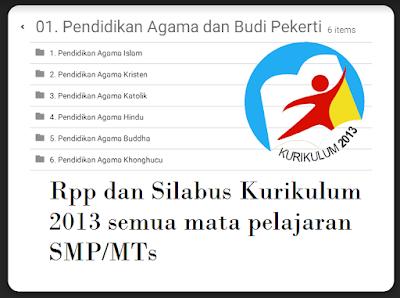 Download Silabus Kurikulum 2013 semua mata pelajaran SMP - Opssekolahdasar