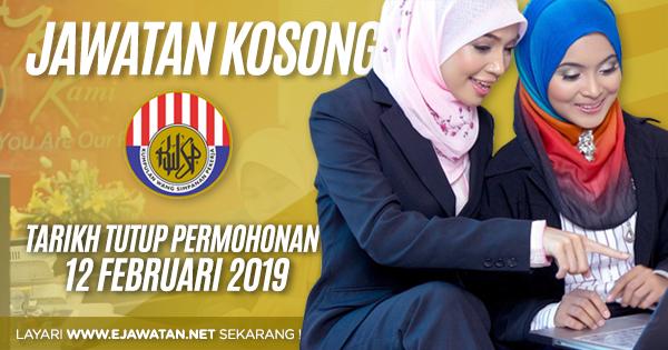 jawatan kosong kerajaan Kumpulan Wang Simpan Pekerja (KWSP) 2019