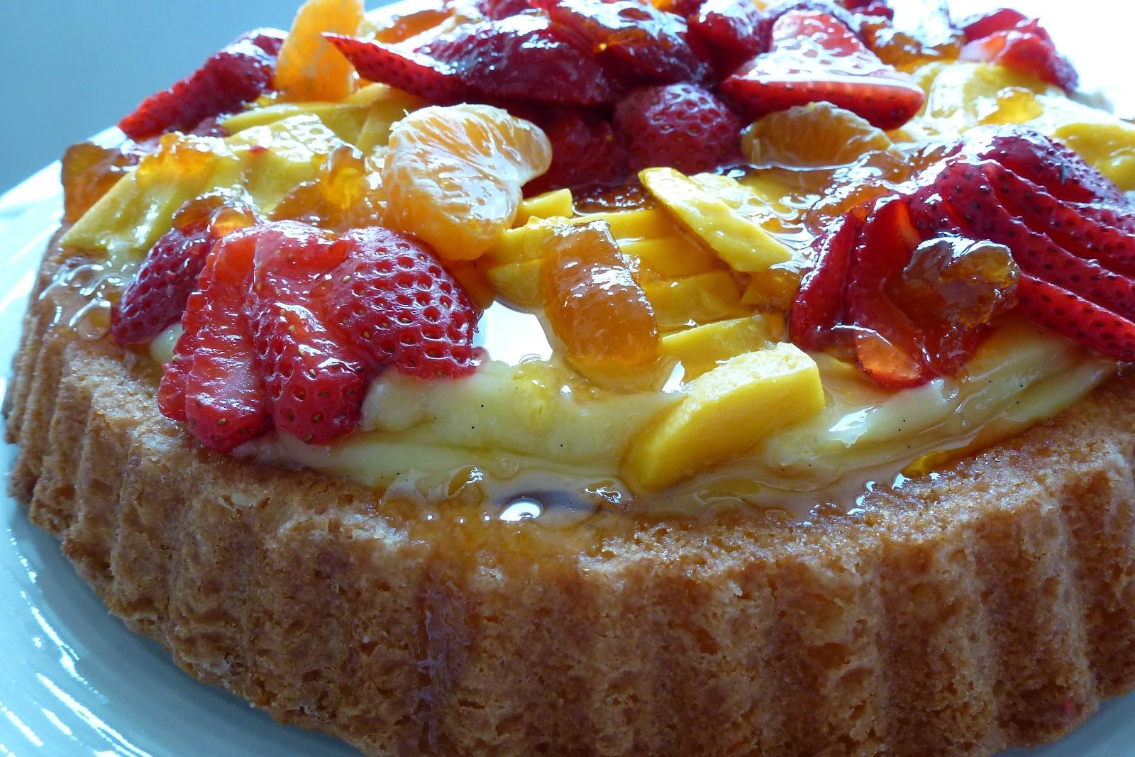 Fruit Flan Cake Recipe