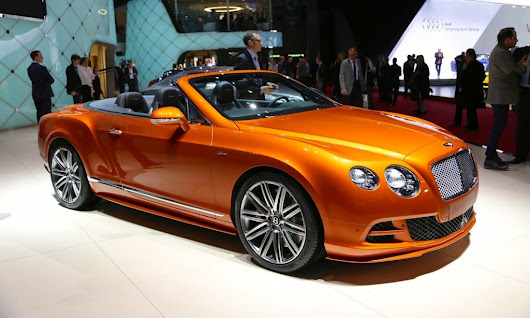 the bentley puts his continental GT speed at 2014 Geneva Motor Show ~ automobiles