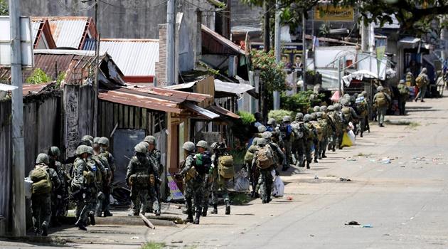 Korban Tewas di Marawi Tembus 500 Orang