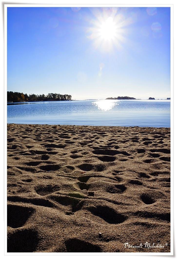 meri hiekkaranta aurinkolahti aurinko