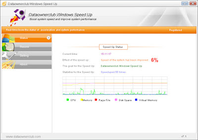 Screenshot Dataownerclub Windows Speed Up 7.2.2 Full Version