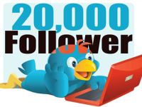 20000 Twitter Followers