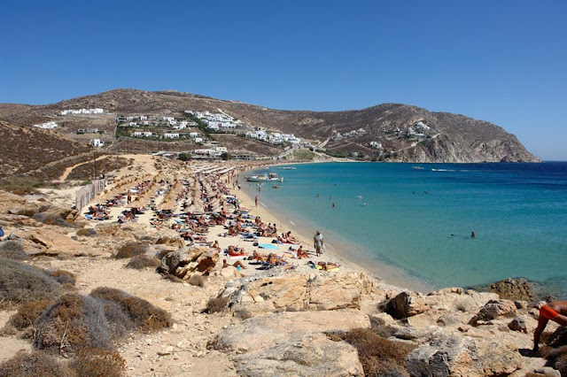 Praia Elia, Mykonos