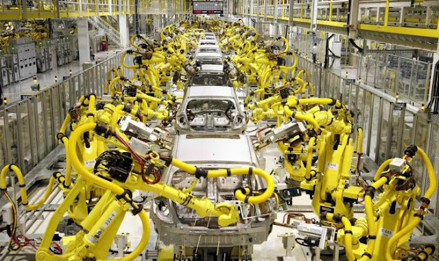 На каких предприятиях России больше всего используют роботов?