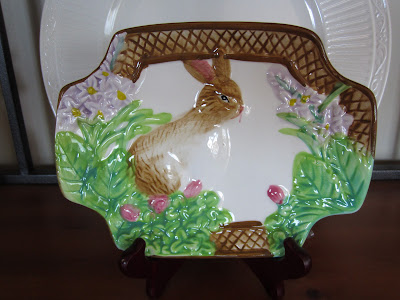 Easter bunny dish