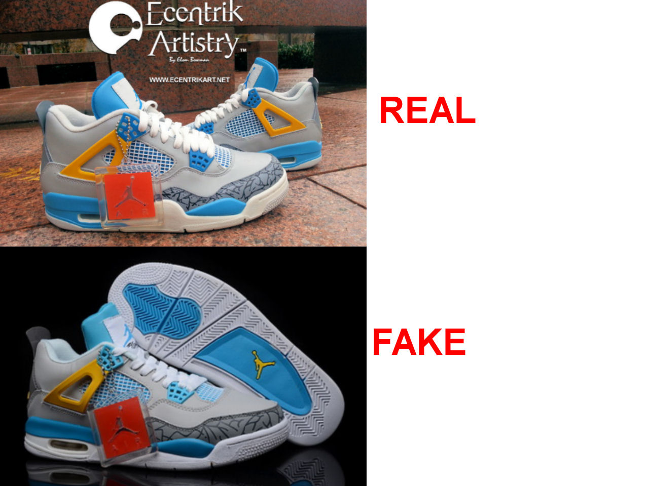 quality design 86476 dc8c0 2 of 3  air jordan doernbecher 6 real vs fake .