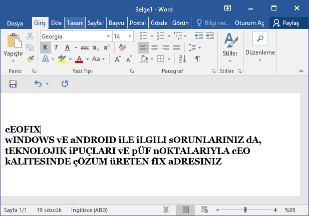 bÜYÜK kÜÇÜK dÖNÜŞTÜR-www.ceofix.com