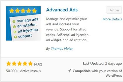 [Wordpress] Cara Memasang Auto Ads Dengan Mudah Tanpa Kode