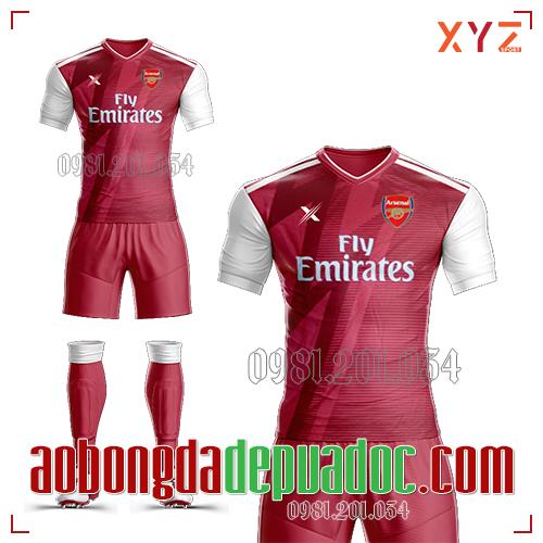 Áo Arsenal 2019 Training Mẫu 2