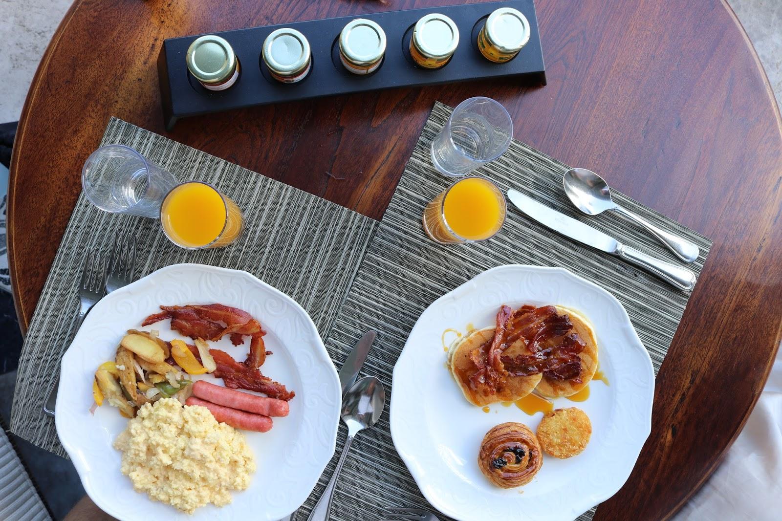 St Regis Breakfast Mauritius