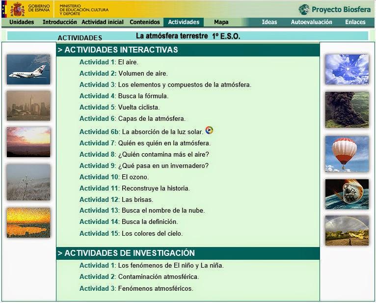 http://recursostic.educacion.es/ciencias/biosfera/web/alumno/1ESO/atmosfera/actividades.htm