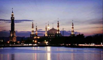 Masjid Islamic Center Wisata Religi Samarinda Kalimantan Timur