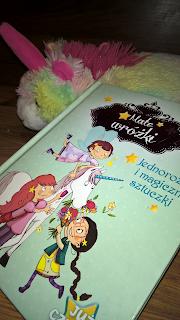 """""""Małe wróżki - Jednorożec i magiczne sztuczki"""" Sophie de Mullenheim"""
